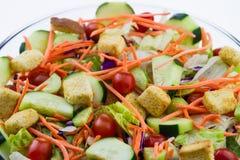 Close-up de uma salada fresca do jardim Fotografia de Stock