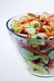 Close-up de uma salada fresca do jardim Fotos de Stock