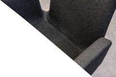 Close up de uma tabela e de uma cadeira fotografia de stock