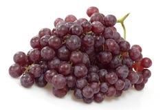 Close_up de uvas rojas Imagen de archivo libre de regalías