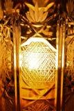 Close up de vidro Imagem de Stock Royalty Free