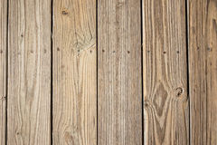 Close Up of Decking Royalty Free Stock Photo