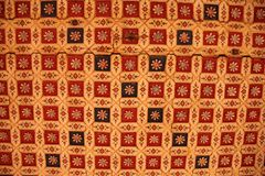 Close up of a ceiling. Close up of a decorated ceiling at the fort in the city of Bikaner, India royalty free stock photo