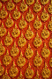 Close up of decorated wall of oriental temple as  background. Close up of decorated wall of oriental temple as a background Stock Images