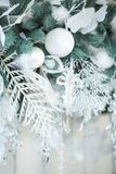 Christmas decorations close up royalty free stock images