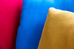 Close up of Decorative pillow Stock Photography