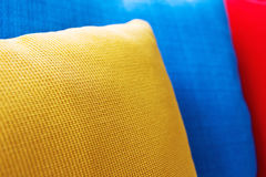 Close up of Decorative pillow Stock Photo