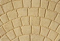 Close up decorativo amarelo da telha Imagens de Stock Royalty Free