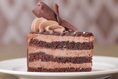 Close up delicioso da sobremesa do bolo Imagens de Stock Royalty Free