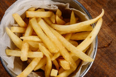 Close up delicioso das batatas fritas fotos de stock