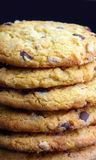 Close up of delicious chocolate cookies Royalty Free Stock Photo
