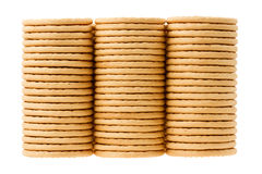 Close up delicious dutch biscuits Royalty Free Stock Photos