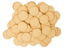 Close up delicious dutch biscuits Stock Image