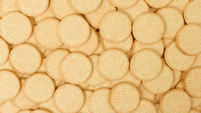 Close up delicious dutch biscuits Stock Photo
