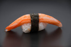 Close up the delicious Japanese sushi Stock Image