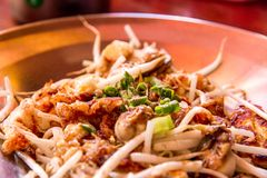 Close up delicious noodle royalty free stock images