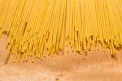 Close up of delicious uncooked macaroni Royalty Free Stock Image