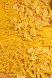 Close up of delicious uncooked macaroni Stock Photo