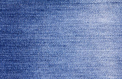 Close up  denim  blue jeans surface texture background Stock Photography