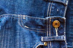 Close up denim jeans Stock Photos