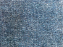 Close up of destroyed torn denim jeans patch Royalty Free Stock Photos