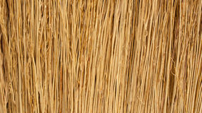 Close up detail of a broom texture Stock Images