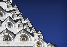 Close-up detail of Church the Holy Apostles Peter and Paul Stock Photos