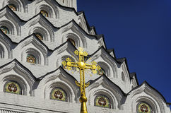 Close-up detail of Church the Holy Apostles Peter and Paul Stock Images