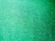Close up detail of green cloth texture Stock Images