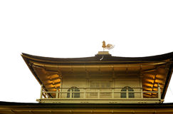 Close up detail of Kinkaku-ji or the Golden Pavilion temple in Kyoto, Japan Stock Photo