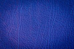Navy blue leather and texture abstract background. Close up detail navy blue leather and texture abstract background Royalty Free Stock Image