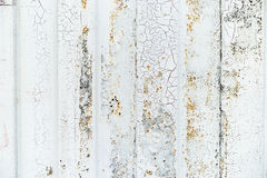Free Close-up Detail Of Grunge Paint On Rusty White Metal Wall. Royalty Free Stock Photography - 76562557