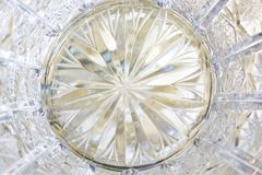 Crystal glass background. Royalty Free Stock Images