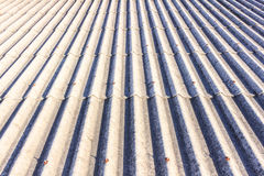 Close up Detail of Old Roof Tiles texture Stock Photography