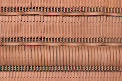 Close up detail of roof tiles Royalty Free Stock Photos