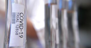 Testing COVID-19 samples in the lab