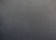 Close up detail seamless black leather. Surface texture background Royalty Free Stock Image