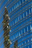 Downtown sky scraper royalty free stock photo