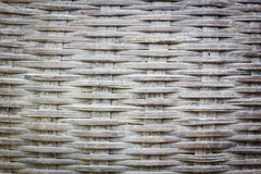 Close up detail view of a wicker basket weave . Royalty Free Stock Photo