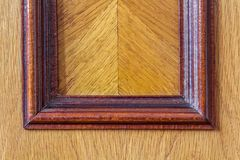 Close-up detail of wooden decoration of expensive furniture.  Stock Photos