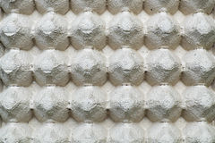 Close up and detailed of paper eggs container box texture backgr Royalty Free Stock Images