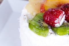 Strawberry and Kiwi Cake Stock Image