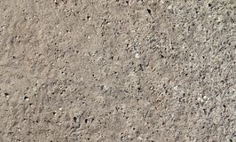 Close up detailed view on sandy ground surfaces in high resolution. Found in germany stock image