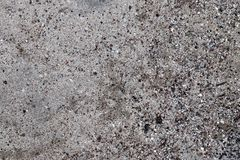 Close up detailed view on sandy ground surfaces in high resolution. Found in germany royalty free stock photography
