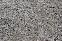 Close up detailed view on sandy ground surfaces in high resolution. Found in germany royalty free stock image