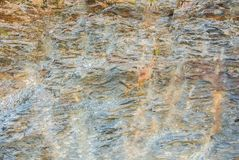 Close up of details of abstract natural stone rock cut texture c Stock Photo