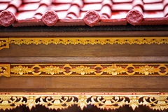 Close-up with details of Hindu  temple Royalty Free Stock Images