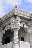 Close-up with details of indian temple Stock Images