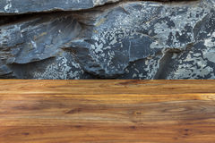 Close up and details of vintage reddish brown wood surface with Stock Image