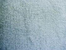 Close-up detalhado da textura de toalha da tela r foto de stock